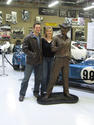 Carroll Shelby Bronze