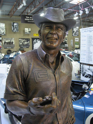 Carroll Shelby Bronze - yes